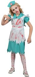 Girls Zombie Nurse Costume