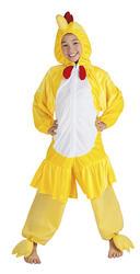 Kids Plush Chicken Costume