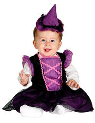 Little Baby Witch Girls Costume