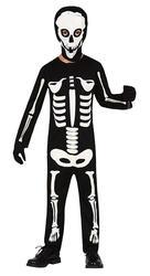 Childrens Skeleton Fancy Dress Costume