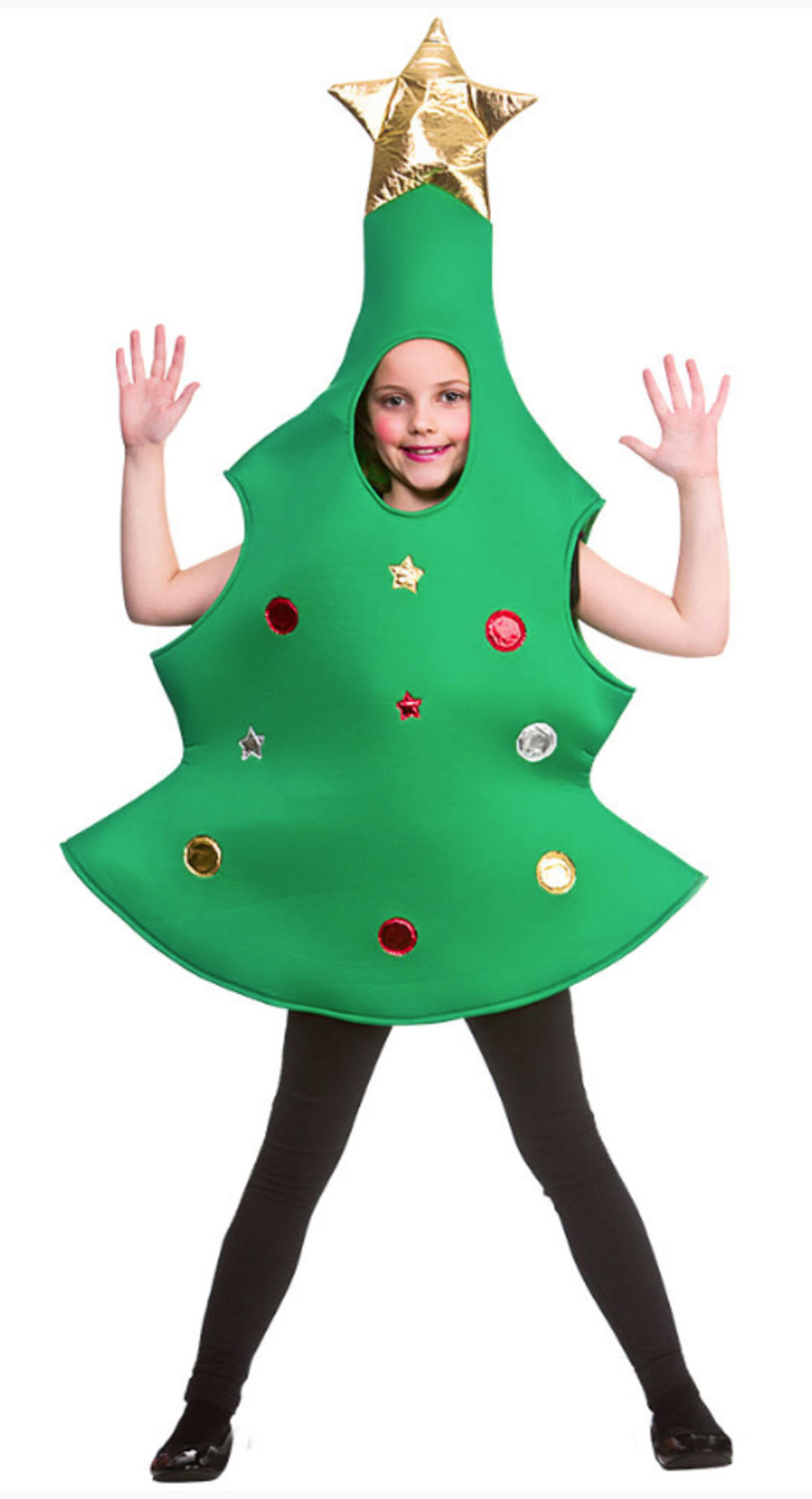Kids Christmas Tree Costume Girls Fancy Dress Costumes Mega Fancy Dress