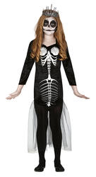 Kids Skull Mermaid Costume