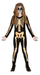 Kids Skeleton Fancy Dress