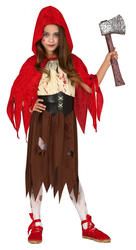 Girls Dead Riding Hood Costume