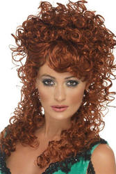 Auburn Saloon Girl Wig Costume
