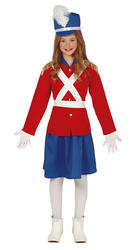 Girls Lead Soldier Costume