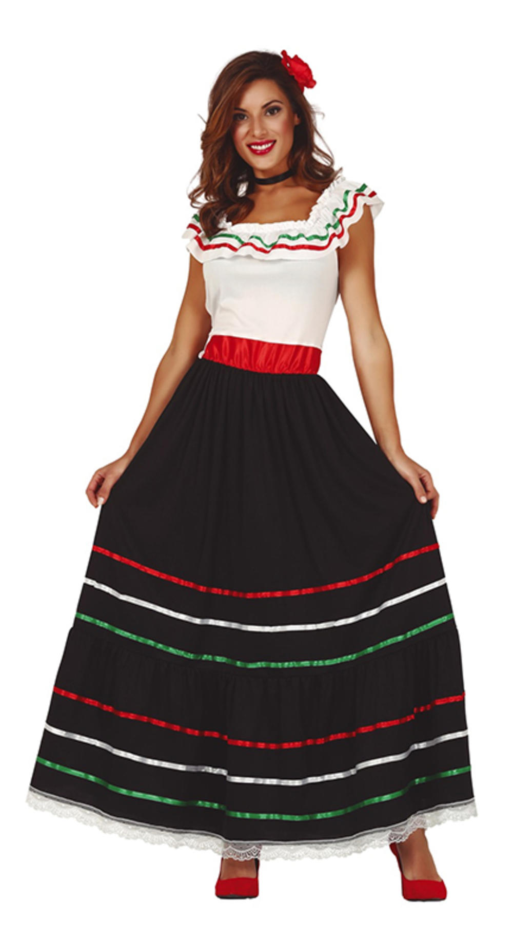 Ladies Mexican Senorita Costume