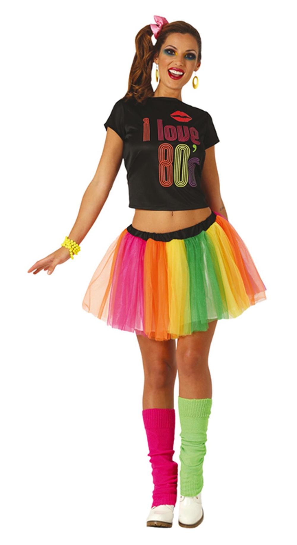 Ladies I Love 80s Costume