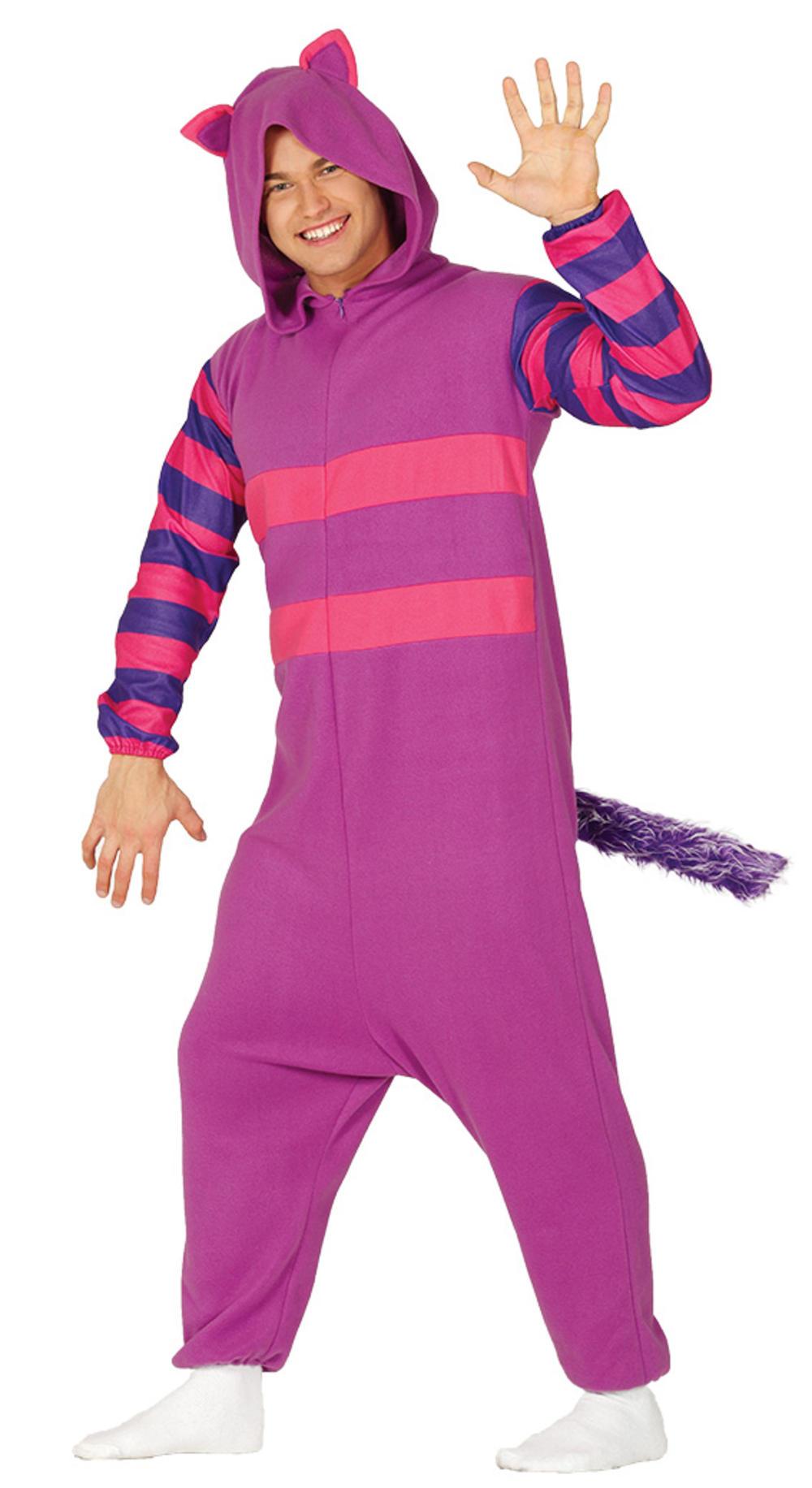 Adults Purple Cat Costume