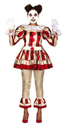 Ladies Killer Clown Costume
