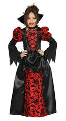Vampiress Girls Costume