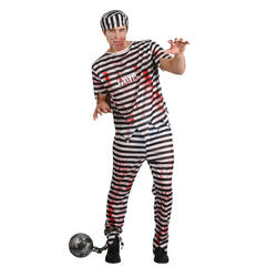 Zombie Convict Halloween Costume