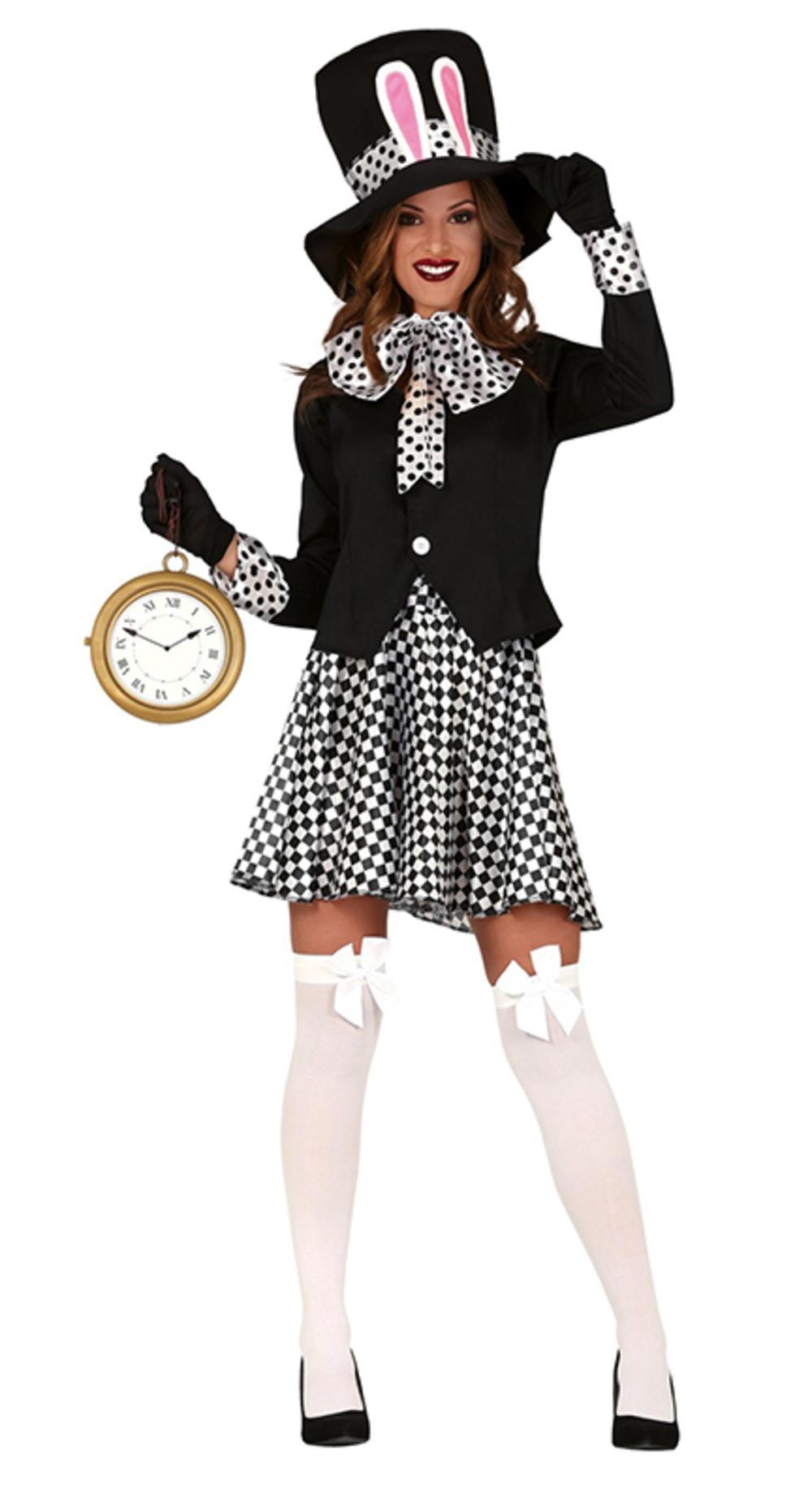 Ladies Crazy Hatter Costume