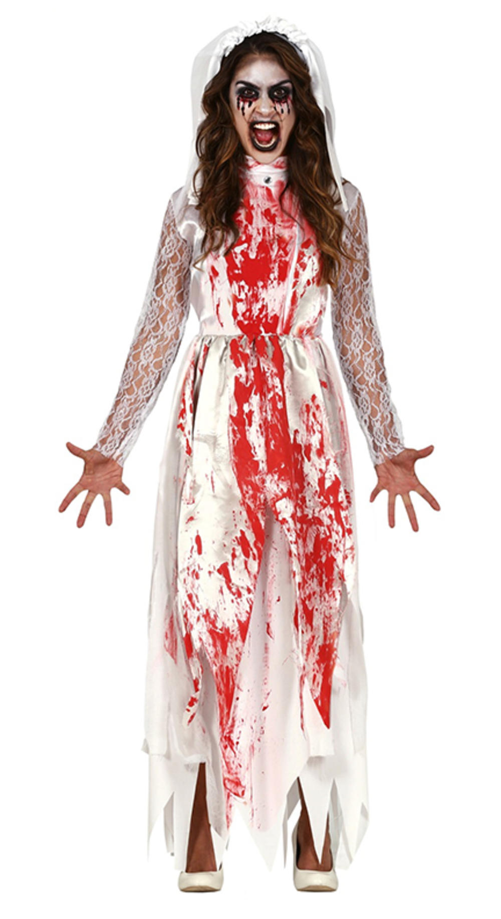 Ladies Bloody Bride Costume