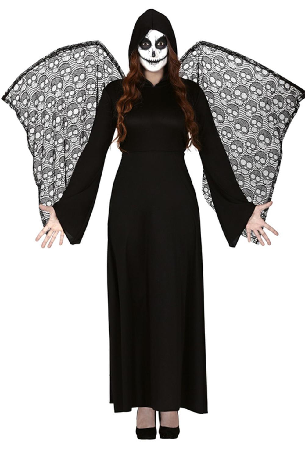 Ladies Winged Death Reaper Costume