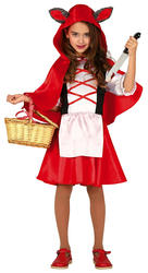 Wolf Riding Hood Girls Costume