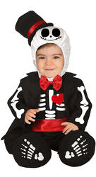 Baby Mr Skeleton Costume