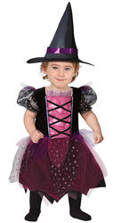 Little Pink Witch Girls Costume