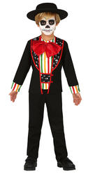Boys Day of the Dead Skeleton Costume
