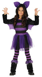 Girls Bat Costume