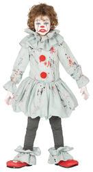 Killer Clown Kids Costume