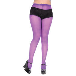 Opaque Purple Tights
