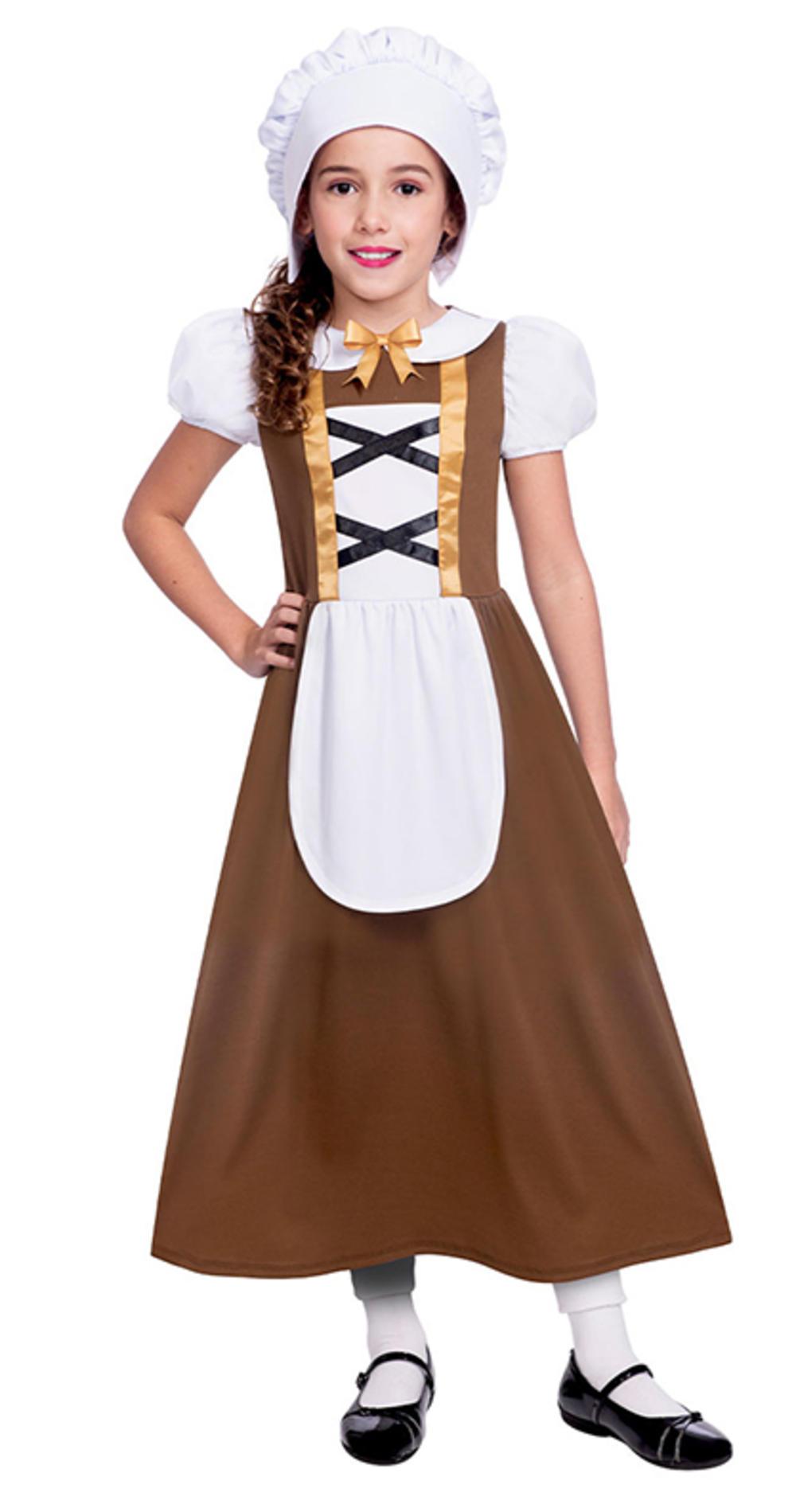 Tudor Girl Fancy Dress