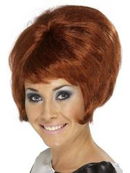 Sixties Auburn Beehive Wig