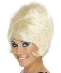 Sixties Blonde Beehive Wig