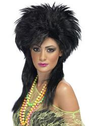 Groovy Punk Chick 80s Wig