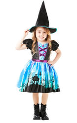 Girls Moonlight Witch Costume