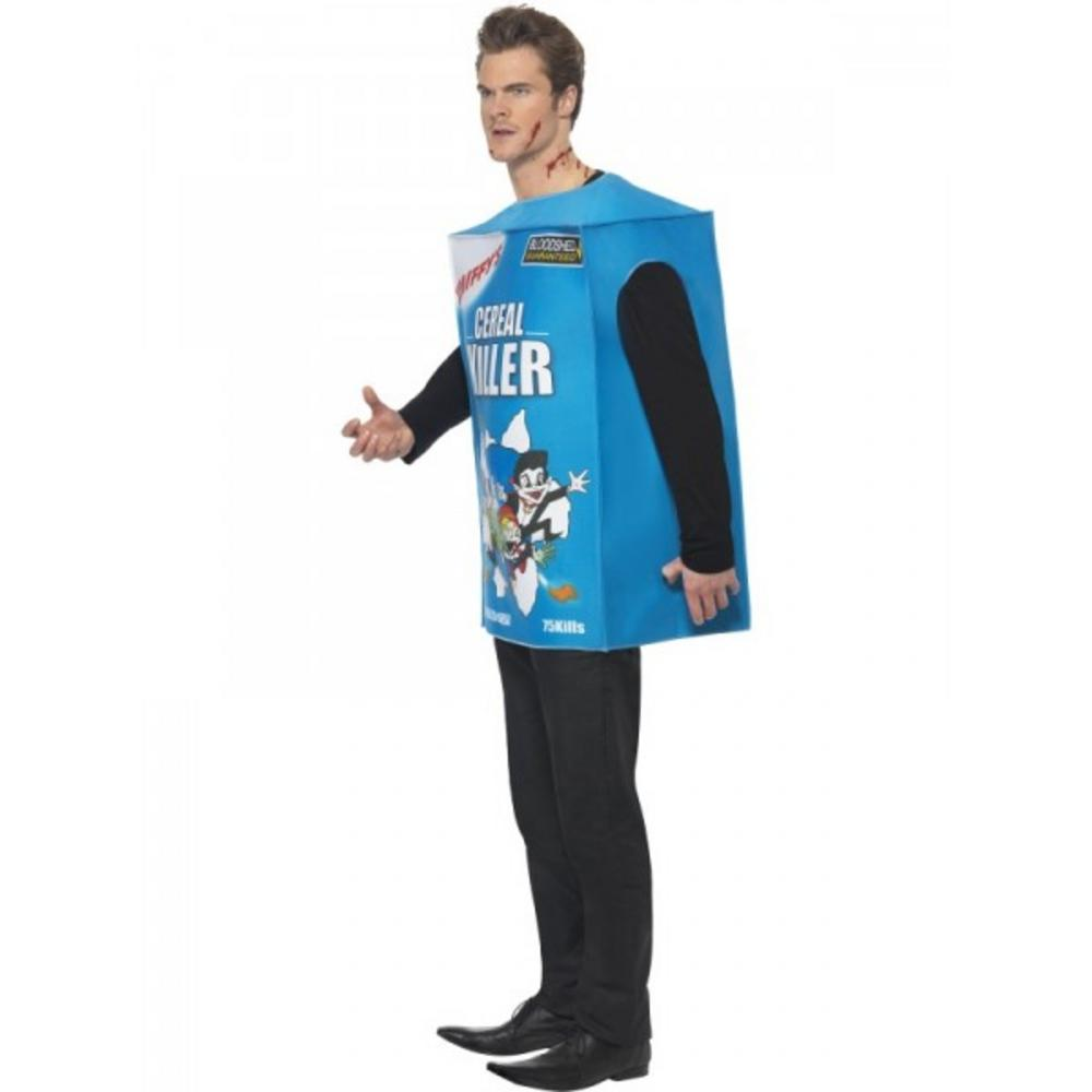 Cereal killer costume all mens halloween costumes mega fancy dress cereal killer costume out of stock ccuart Gallery