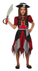 Girls Pirate Fancy Dress