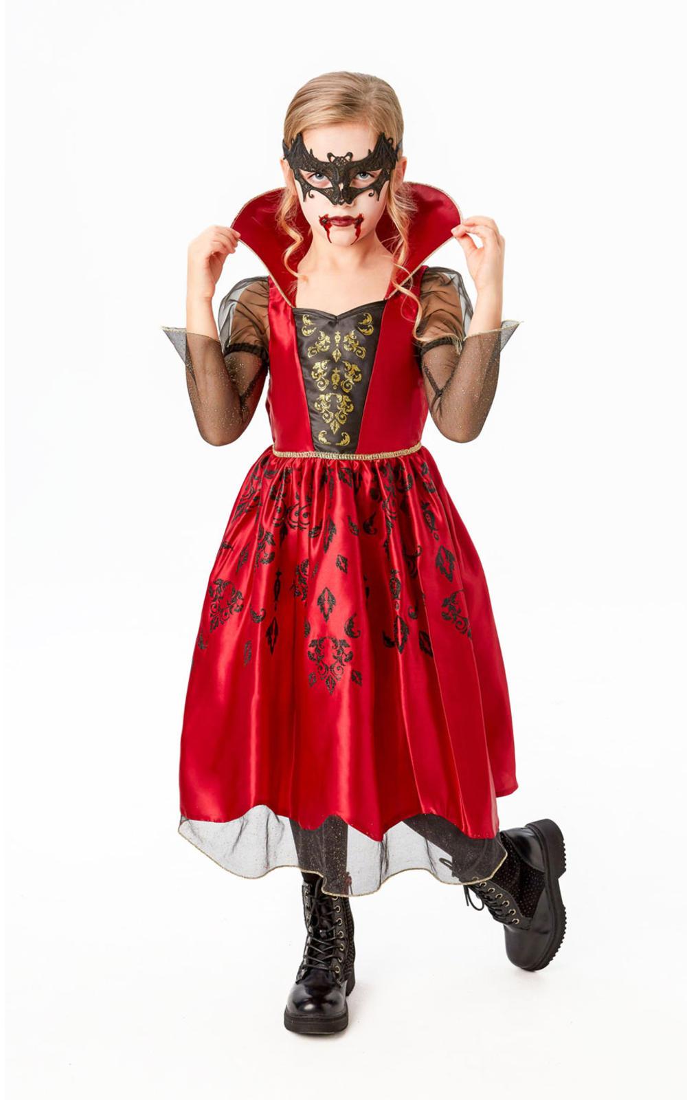 Kids Vampiress Halloween Costume