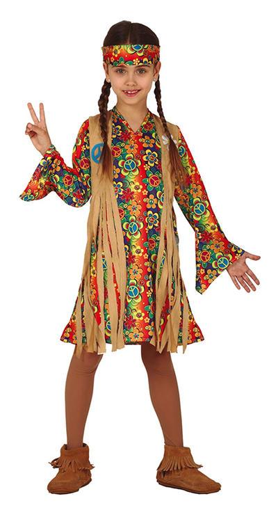 Girls Hippie Costume