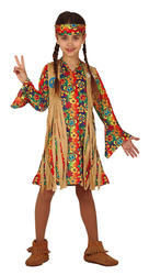 Girls Hippie Costume