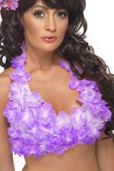 Hawaiian Halterneck Flower Top