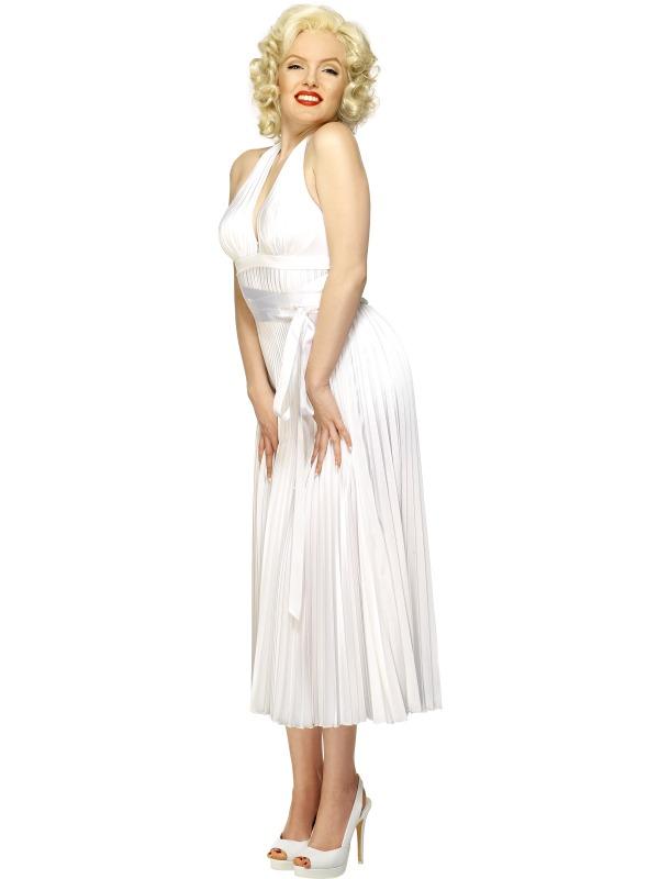 Deluxe Marilyn Monroe Halterneck Costume  sc 1 st  Mega Fancy Dress & Deluxe Marilyn Monroe Halterneck Costume | All Ladies Costumes ...
