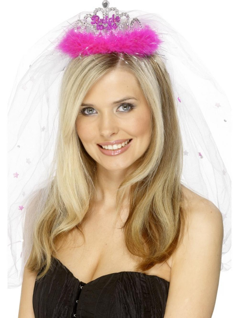 Bride to Be Tiara and Veil Hen Party