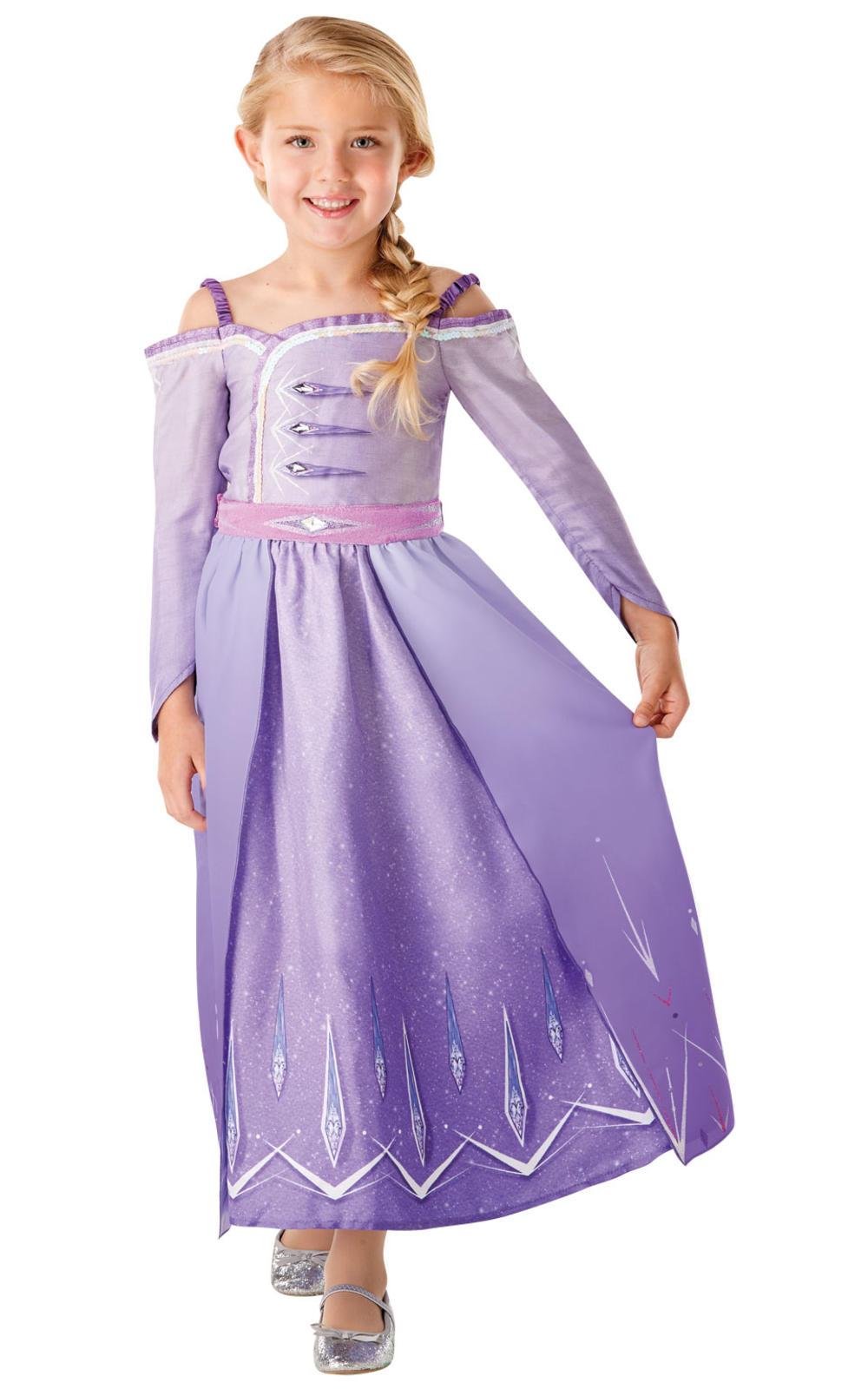 Girls Elsa Prologue Dress Costume