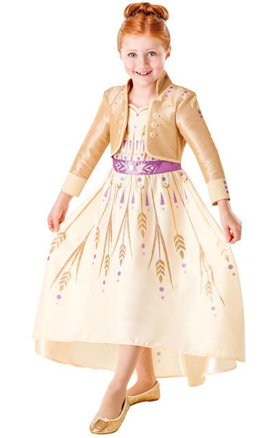 Girls Anna Prologue Dress Costume