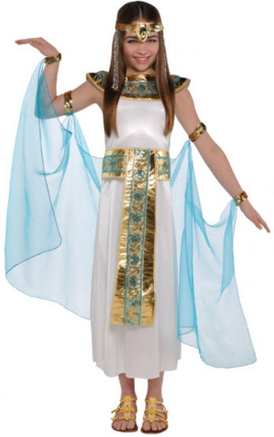 Girls Cleopatra Queen Costume