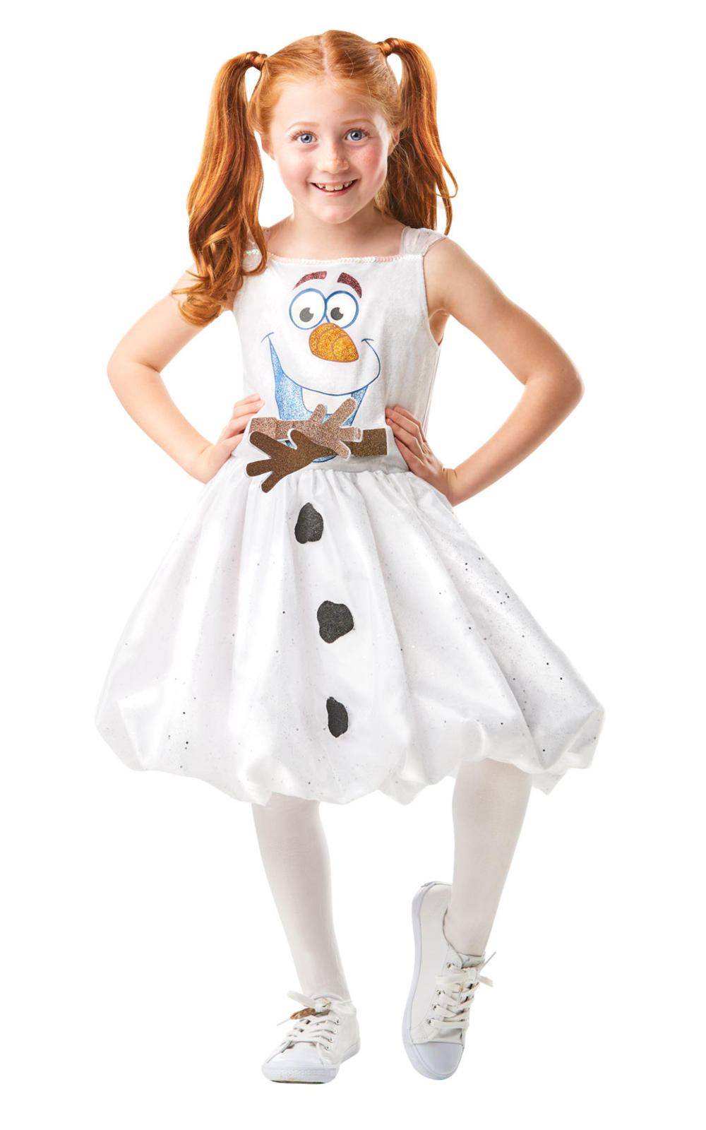 Girls Olaf Air Motion Dress Costume