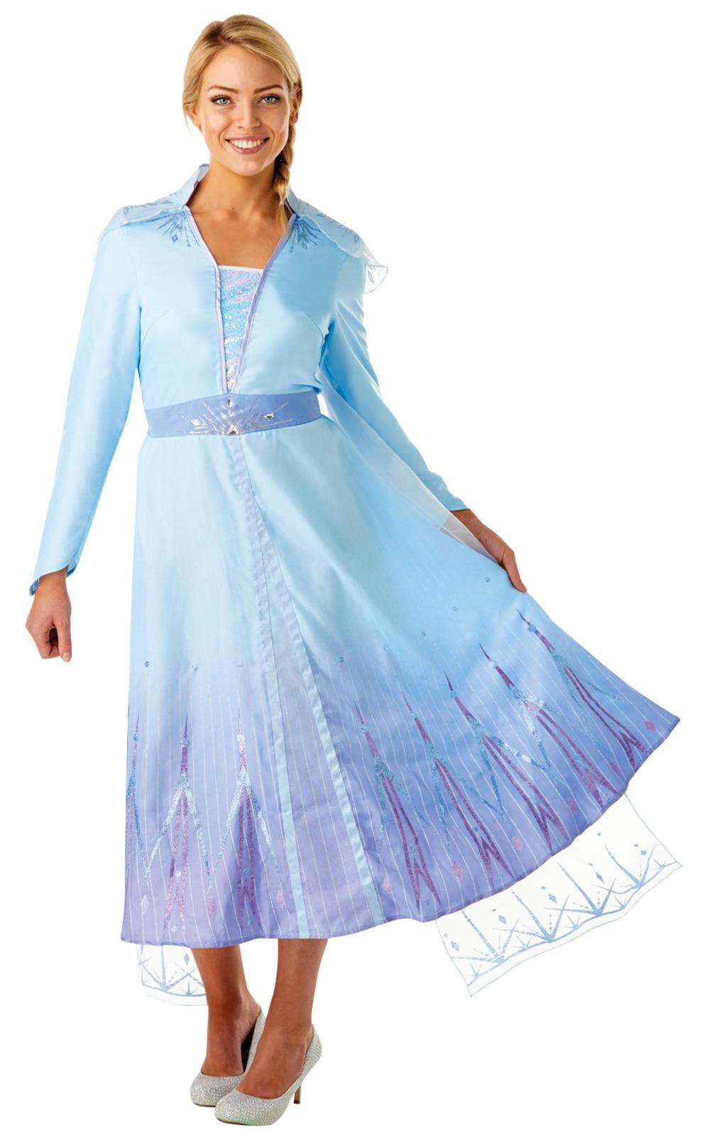 Ladies Princess Elsa Costume