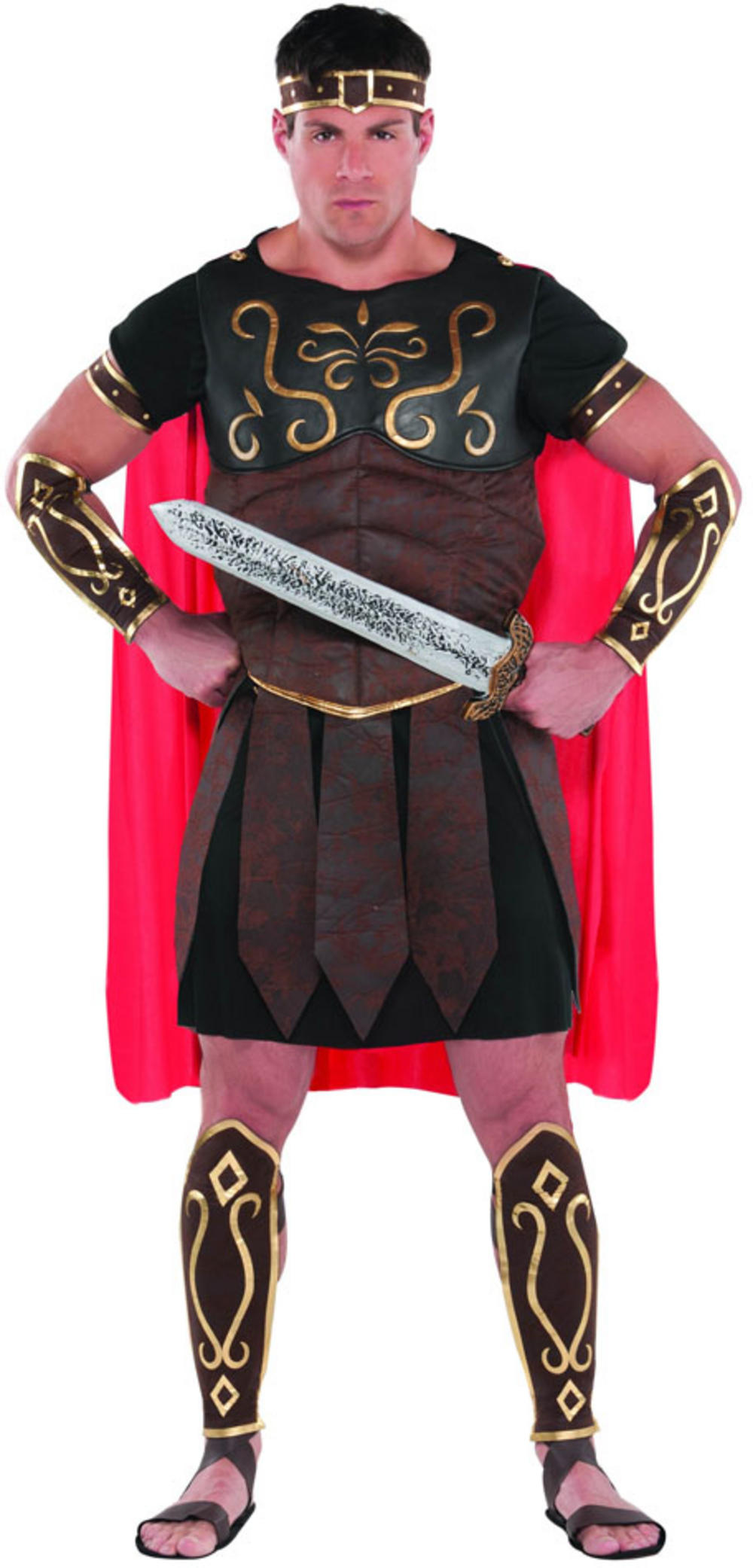 Men's Centurion Fancy Dress Costume
