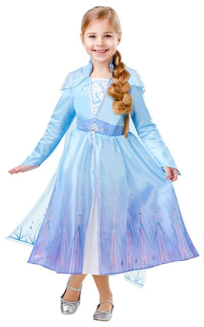 Deluxe Elsa Girls Costume