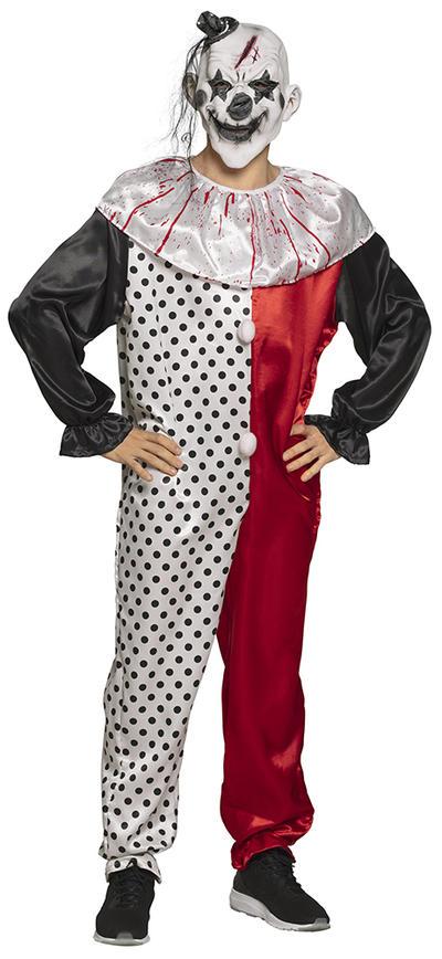 Mens Psycho Clown Costume