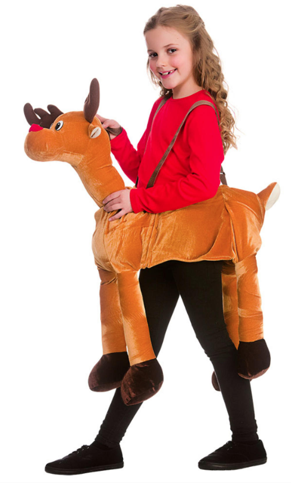 Kids Ride On Reindeer Costume