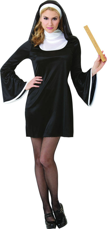 Blessed Babe Nun Costume All Ladies Halloween Costumes