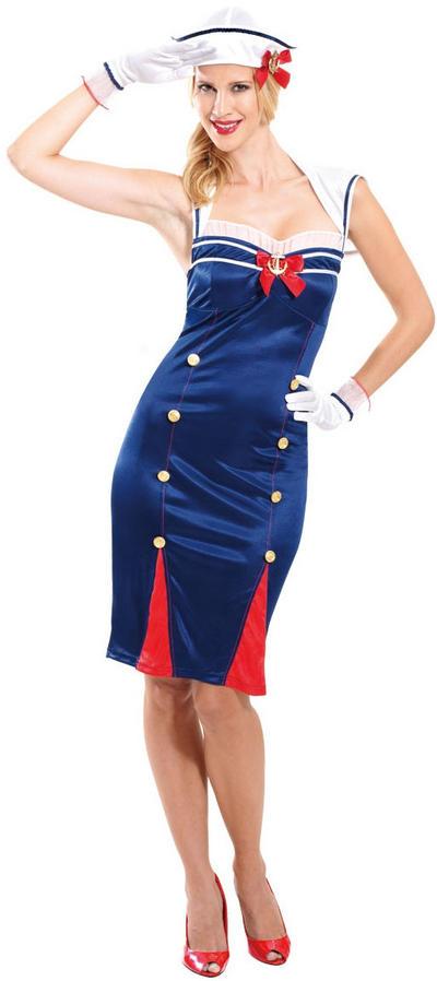 Sailor Pin-Up Costume